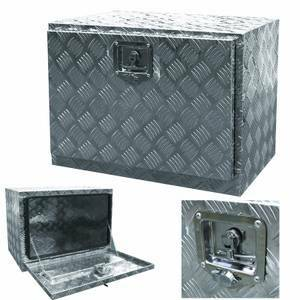 Underbody Truck Tool Boxes >> 24″ Aluminum Truck Under Body Truck Tool Box Tote Trailer ...