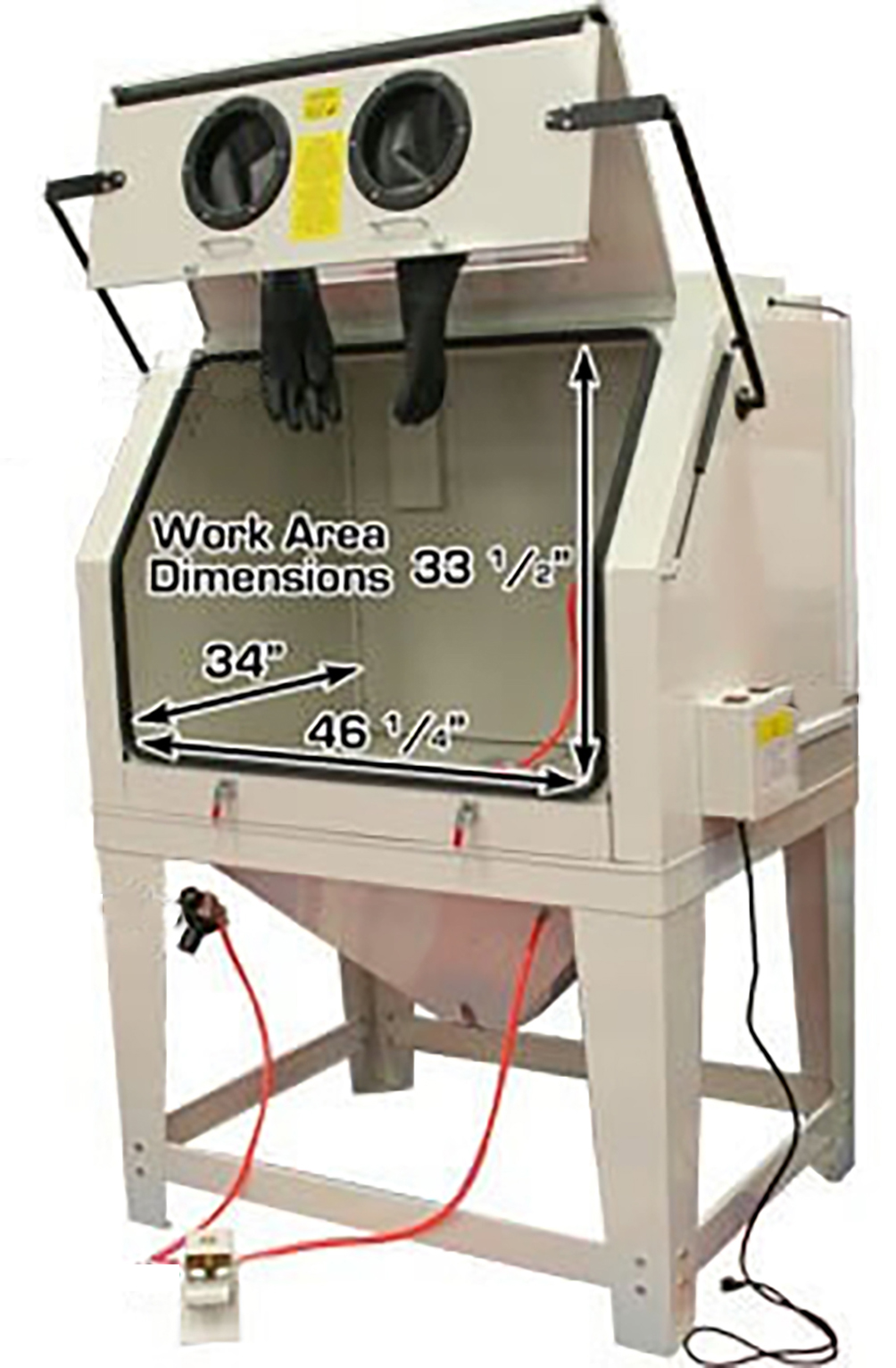 Sand Blast Cabinet 990l With